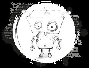 Little Robot Stories #1 - paperback