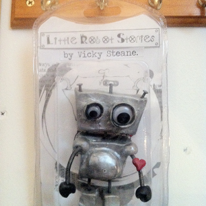 Little Robot Stories Limited Edition Handmade Toy